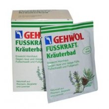 GEHWOL FUSSKRAFT HERBAL BATH 10 x 20g pk