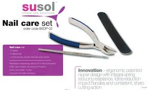 BOX OF 10 - SUSOL 3PC NAIL CARE SET